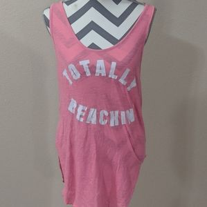 PINK Beach Cover-up/Tank